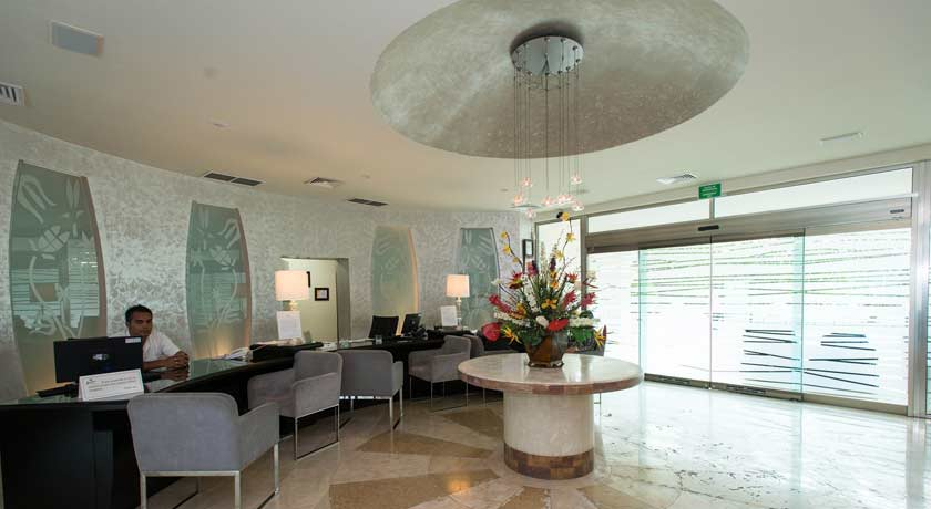 Main Lobby at Temptation Resort Spa